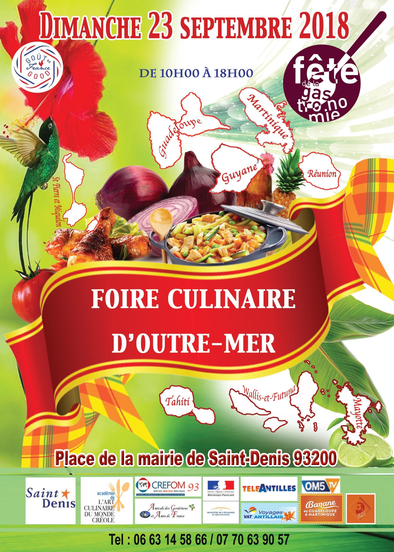 FOIRE CULINAIRE D'OUTRE-MER